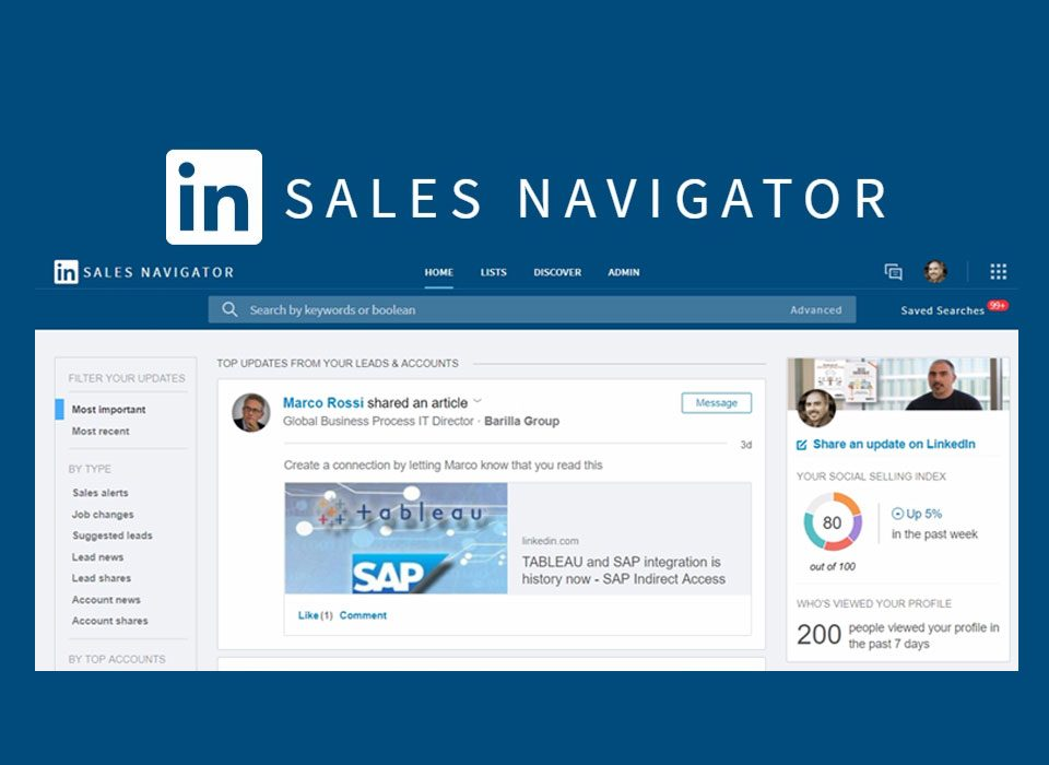 Sales navigator: come funziona