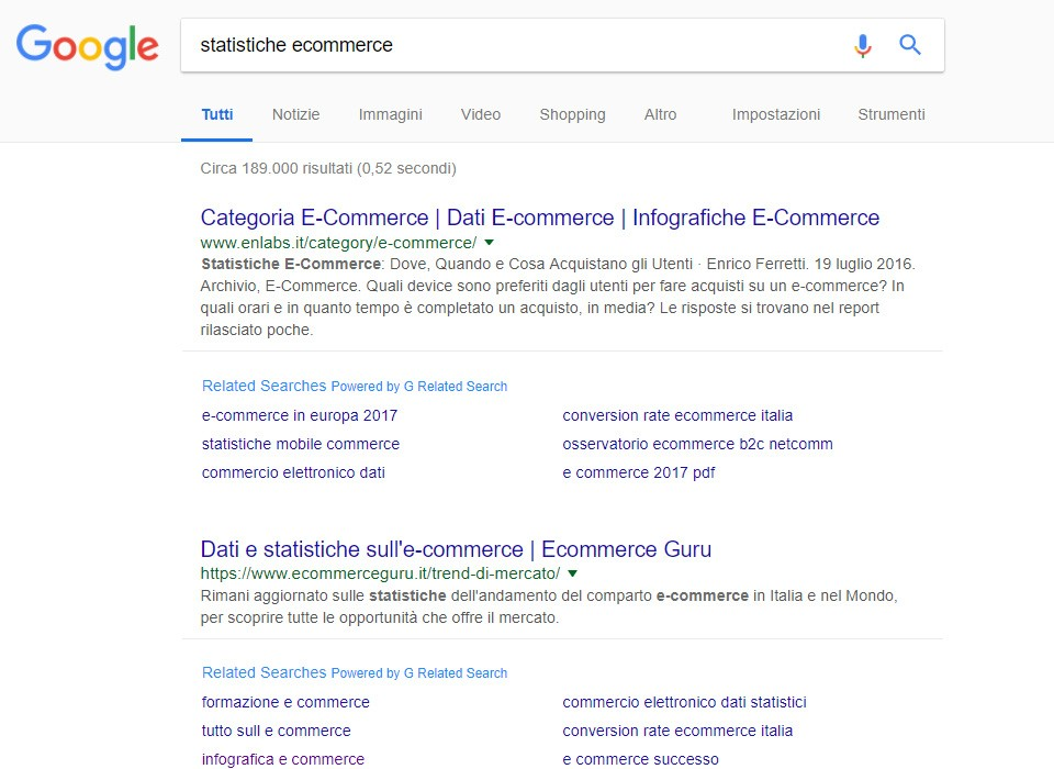 google correlate estensione