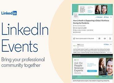 come creare promuovere evento linkedin