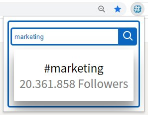 cerca hashtag linkedin